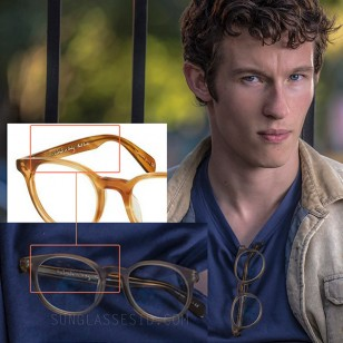 The inside of the temple can be spotted in this photo, matching the Paul Smith glasses.