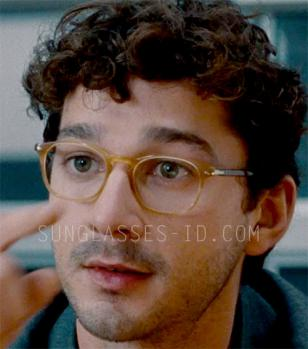 Shia LeBeouf wears a pair of Persol 3007 eyeglasses in the movie The Company You