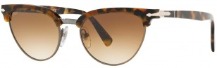 Persol PO3198S Tailoring Edition, Dark Brown Tortoise and gold frame and Brown Gradient lenses, color code 107351 51-19
