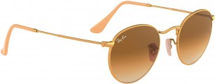 Ray-Ban RB3447 Round Metal, gold frame