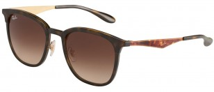 Ray-Ban RB4278 628313, Tortoise-Gold / Brown Gradient