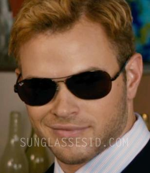 In the movie Syrup, actor Kellan Lutz wears a pair of Ray-Ban RB8301 Tech Sungla