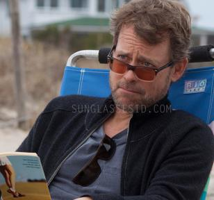 In the beach scene, Greg Kinnear wears the Ray-Ban RX5288, but also has a pair o
