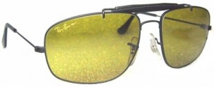 The model worn in the movie is the vintage B&L Ray-Ban W1700