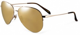 Sama Eyewear Syd Gold aviator sunglasses