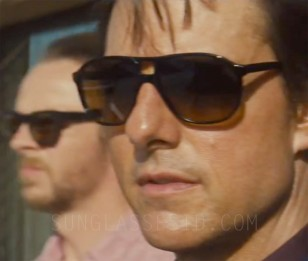 Tom Cruise wears black L.G.R. Tangeri sunglasses in Mission: Impossible - Rogue Nation