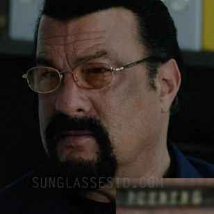 Besides his standard Oakley Whisker glasses Steven Seagal also wears another pair of sunglasses in the 2016 action film Contract To Kill.