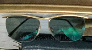 Close-up of Brad Pitt's sunglasses in Allied