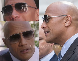 Dwayne Johnson wears a pair of Dita Midnight Special sunglasses in Ballers Season 3, Episode 3 and 4.