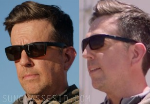 Ed Helms wears a pair of unidentified sunglasses in Corporate Animals.
