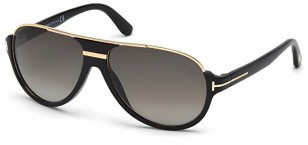 Tom Ford Dimitry 0334S 01P Black and Gold