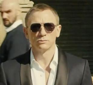 Daniel Craig wearing Tom Ford 144 Marko sunglasses in Skyfall