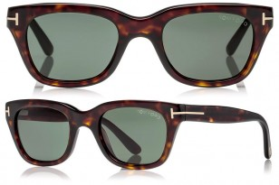 Ryan Reynolds Tom Ford Snowdon sunglasses are either Dark Havana (pictured here) or Shiny Black