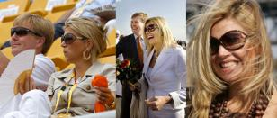 Princess Maxima wearing Tom Ford Whitney Sunglasses