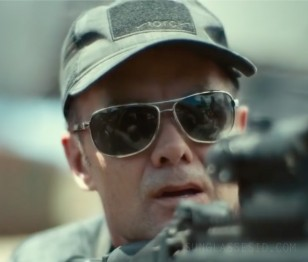 Garret Dillahunt wears Wiley X Klein sunglasses in Army Of The Dead.