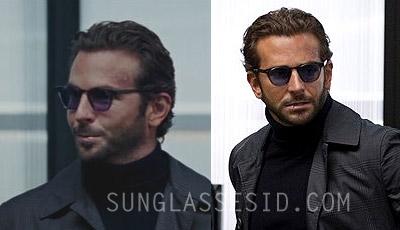 """Bradley Cooper, as Templeton """"Face"""" Peck, wears Allyn Scura Legend sunglasses in"""