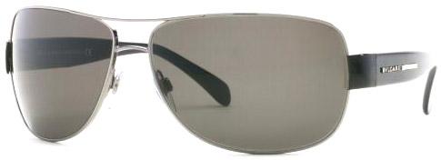 Reference: Bvlgari BV 5001, black arms, silver frame, black lens, color code 103