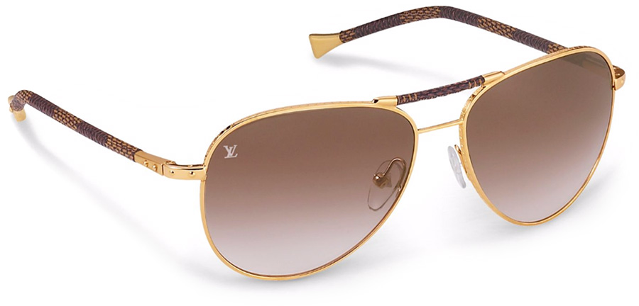 Louis Vuitton Conspiration Pilote Canvas Z0202U sunglasses