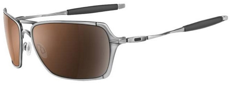 Oakley Inmate Polished Chrome, Lens Color: VR28 Black Iridium