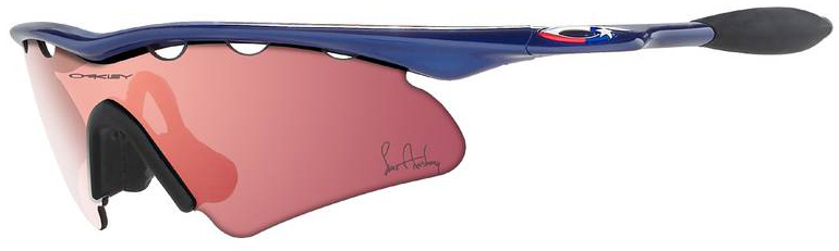 oakley m frame lance armstrong metallic blueg30 12 626 discontinued