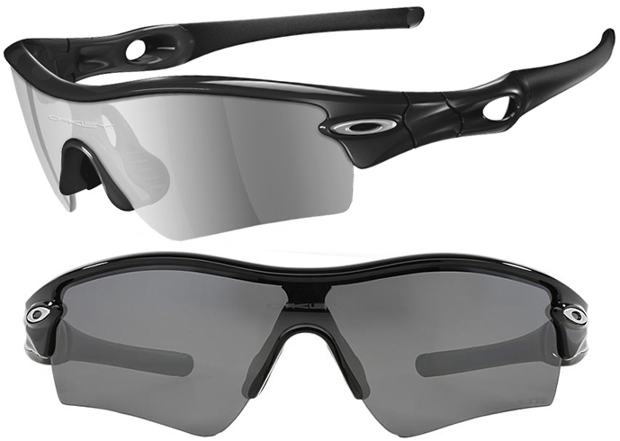 oakley radar sunglasses black frame colorful lens