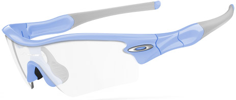 Oakley Radar Path; Team Light Blue frame (Straight Stem); Path lens shape