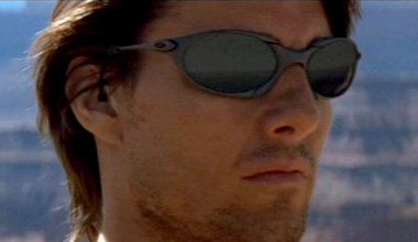 e602439292 Tom Cruise wearing Oakley Romeo in Mission  Impossible II