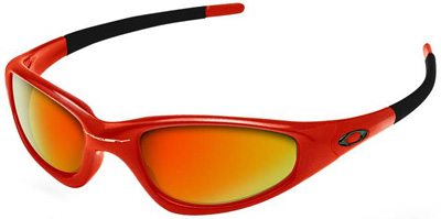 oakley glass door  door inner glass 10255g model; oakley straight jacket cannon red fire iridium 04 259