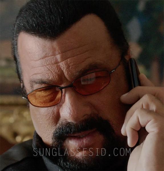Steven Seagal wears Oakley Whisker sunglasses in the 2015 action film Absolution.
