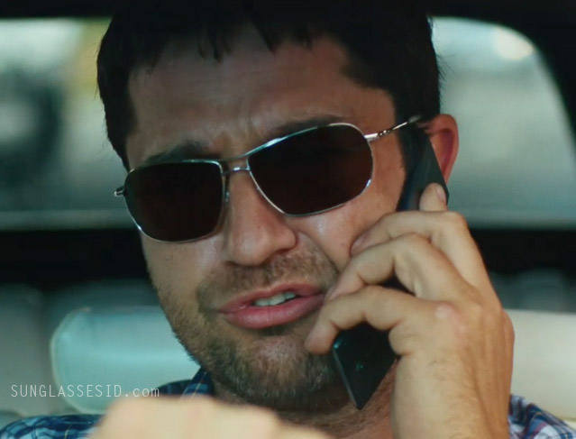 5e6acff3510 ID the sunglasses that Gerard Butler wears in The Bounty Hunter