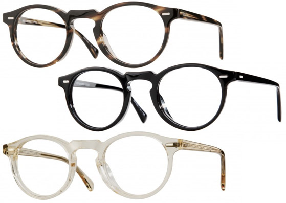 ff19c58daf61 The Oliver Peoples Gregory Peck is available in different frame colors.