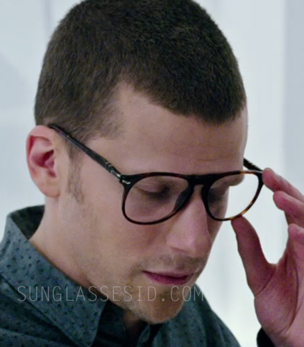 7e1b15e2f4 Jesse Eisenberg wears Persol PO9649V eyeglasses in the 2016 film Now You  See Me 2.