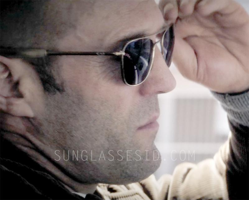 american aviator sunglasses j26c  Jason Statham wearing Randolph Engineering Aviator sunglasses