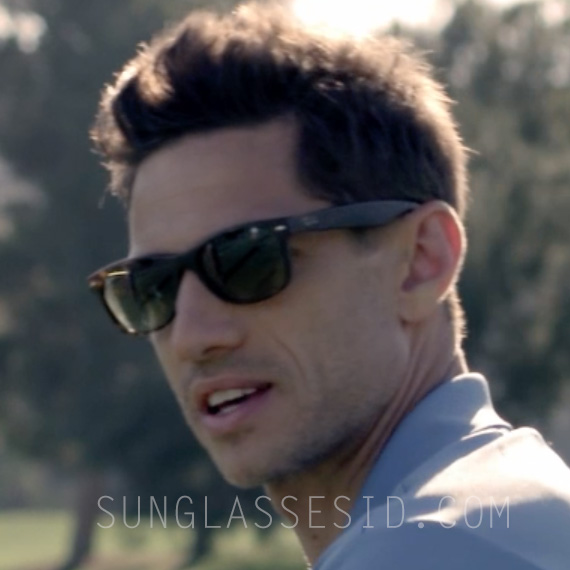 James Carpinello wears Ray-Ban 2132 New Wayfarer sunglasses in Let\u0026#39;s Kill Ward\u0026#39;s Wife