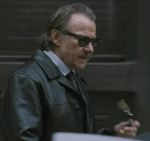 6bf155298c arvey Keitel wearing Ray-Ban 2140 Wayfarer sunglasses in the movie The  Ministers