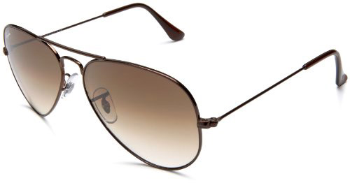 Brown Aviator Ray Bans