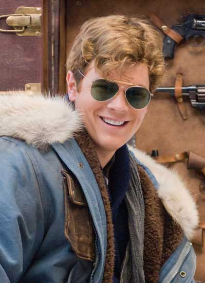 41fe9a3042 Luke Ford wearing Ray-Ban 3030 Outdoorsman sunglasses in The Mummy 3