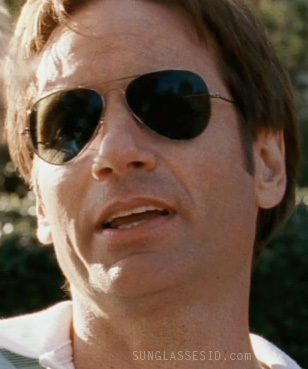 ray ban arista v5rm  David Duchovny wears Ray-Ban 3025 Aviator sunglasses in The Joneses