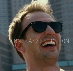new wayfarer ray ban q1d6  In the romantic comedy movie What's Your Number?, actor Chris Evans wears a  pair of Ray-Ban RB2132 New Wayfarer sunglasses