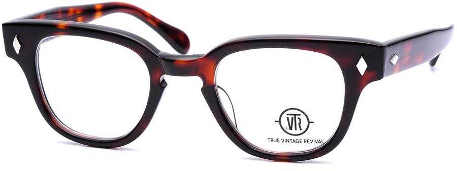 True Vintage Revival TVR502 Diamond Shape sunglasses, tortoise frame