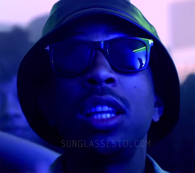 c2397cc5ced Ludacris wears Tom Ford Leo FT0336 sunglasses in his music video Grass Is  Always Greener.