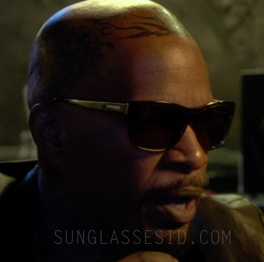 aa27f31c805 Jamie Foxx wears a pair of Versace 4179 sunglasses in Horrible Bosses 2