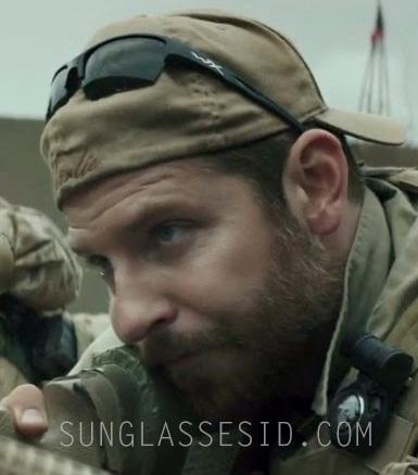 Bradley Cooper wears Wiley X sunglasses in American Sniper.