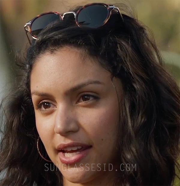 b863faea6eec7 Bianca Santos wears Céline Lea sunglasses in the movie SPF-18.