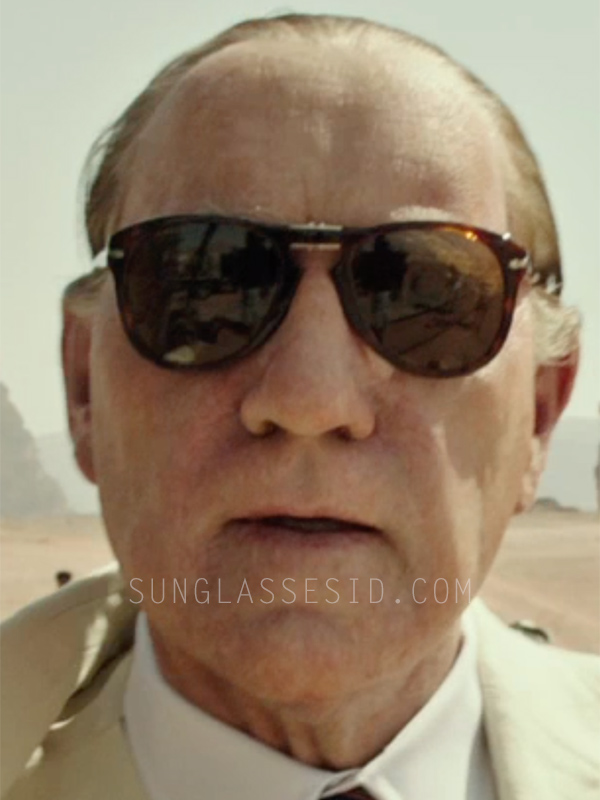 f81b2380e Kevin Spacey wears Persol 714 folding sunglasses in the movie All The Money  In The World