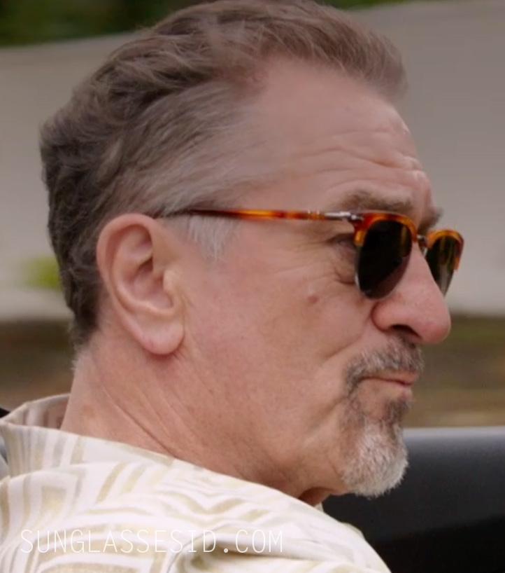 55d6bba656 Robert De Niro wears Persol 3105 sunglasses in The Comedian.