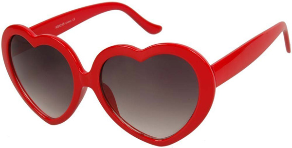 Heart Sunglasses  red heart sunglasses taylor swift 22 sunglasses id