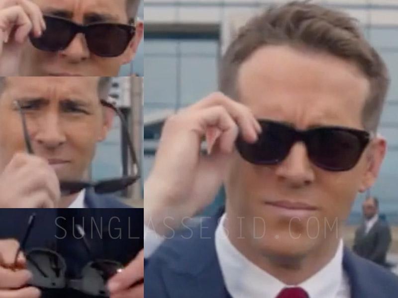 Ryan Reynolds wears a pair of Tom Ford Snowdon sunglasses in The Hitman's Bodyguard.