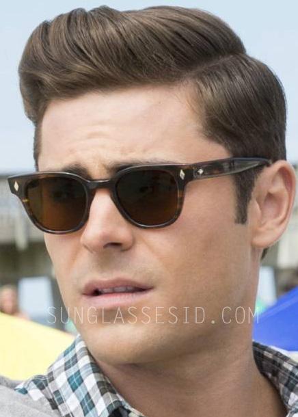 Zac Efron wears a pair of True Vintage Revival TVR502 Diamond Shape sunglasses in Dirty Grandpa.