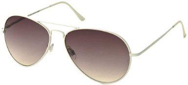 f7dc976f62e1c White Frame Aviator Sunglasses - Liam James - The Way